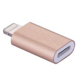 Adaptador Magnético Lightning para iPhone iPad Oro