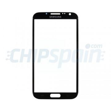 Cristal Exterior Samsung Galaxy Note 2 N7100 N7105 Negro