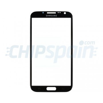 Front Screen Outer Glass Lens for Samsung Galaxy Note 2 N7100 N7105 Black