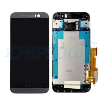 Tela Cheia com Frame HTC One M9 Cinza