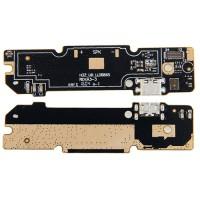 Connector Flex Carregamento e Microfone Xiaomi Redmi Note 3