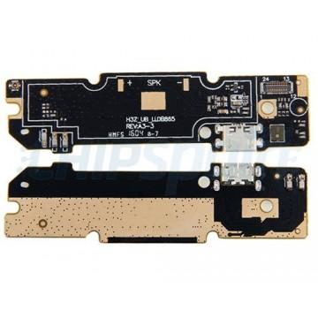 Placa con Conector Carga Micro USB y Micrófono Xiaomi Redmi Note 3