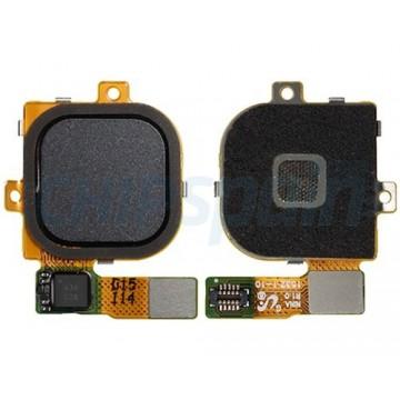 Botão Home Completo com Flex Huawei Nexus 6P Preto