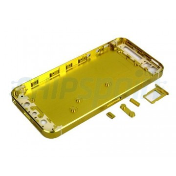 Carcasa Trasera iPhone 5 -Amarillo