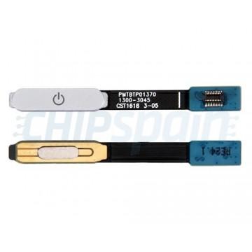 Full Home Button Flex Sony Xperia XZ F8331 F8332 Silver