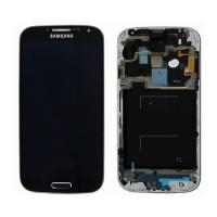 Tela Cheia com Moldura Samsung Galaxy S4 i9505 Preto