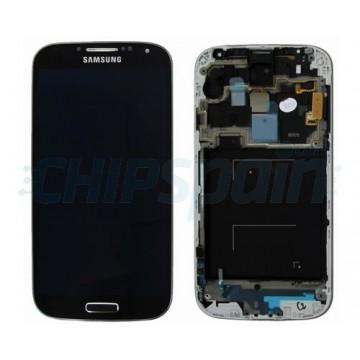 Ecrã com Moldura Samsung Galaxy S4 i9505 Preto