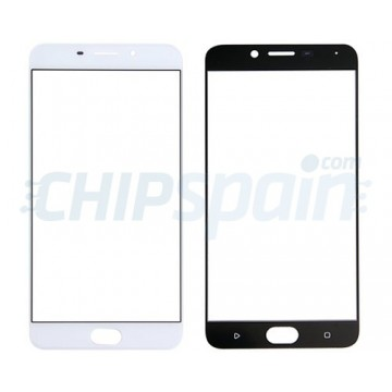 Front Screen Outer Glass Lens for Oppo R9 White