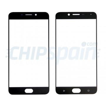 Front Screen Outer Glass Lens for Oppo R9 Black