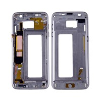Intermediate Central Housing Samsung Galaxy S7 Edge G935F Grey