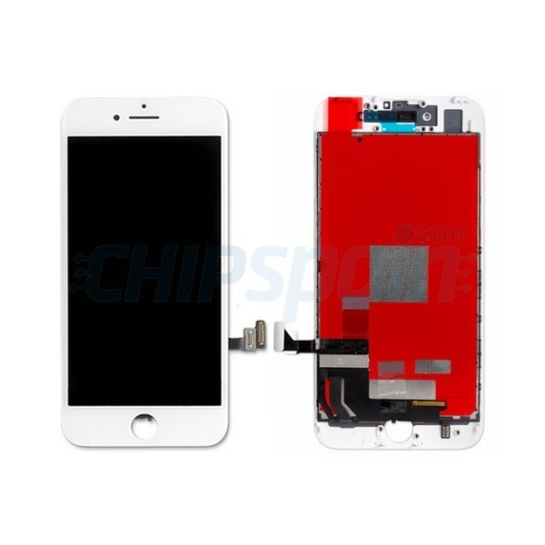 LCD Screen + Touch Screen Digitizer Assembly iPhone 7 White ...