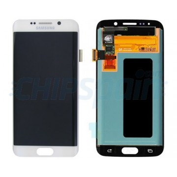 LCD Screen + Touch Screen Digitizer Assembly Samsung Galaxy S6 Edge G925F White
