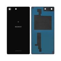 Cristal Trasero Sony Xperia M5 E5603 E5606 E5653 Negro