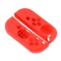 Casos da Nintendo Switch Silicone para controles Joy-Con Vermelho