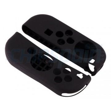 Casos da Nintendo Switch Silicone para controles Joy-Con Preto