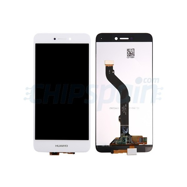 huawei p8 lite white. lcd screen + touch digitizer assembly huawei p8 lite 2017 white