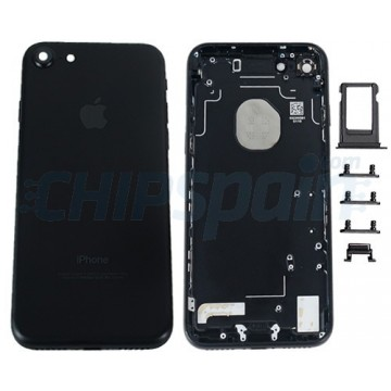 Rear Casing Complete iPhone 7 Black
