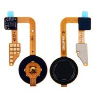 Botão Home Completo com Flex LG G6 H870 Preto