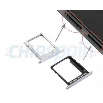 Tabuleiro para cartão SIM e Micro SD Huawei P8 Lite Preto