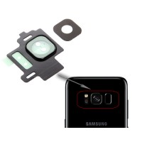 Back Camera Lens Cover Replacement Samsung Galaxy S8 G950F Black