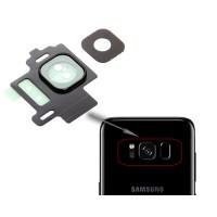 Guarnição Câmera Traseira Samsung Galaxy S8 G950F Preto