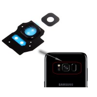 Embellecedor Cámara Trasera Samsung Galaxy S8 Plus G955F Negro