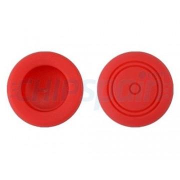 Joystick de Silicone de Proteção Analógico Nintendo Switch Vermelho (2 unidades)