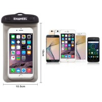 Funda Impermeable Waterproof Smartphone/iPhone -Negro