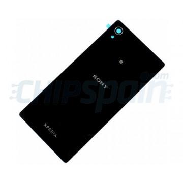 Glass Back Cover Sony Xperia M4 Aqua E2303 Black