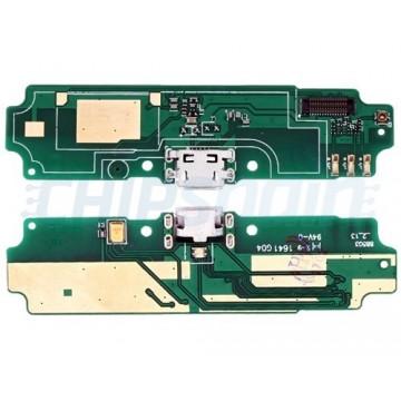 Placa con Conector Carga Micro USB y Micrófono Xiaomi Redmi 4A