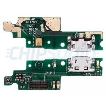 Placa con Conector Carga Micro USB y Micrófono Xiaomi Redmi 4X