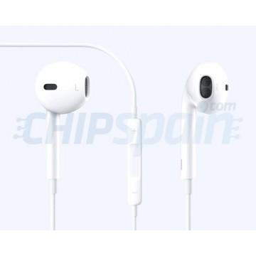 Auriculares para iPhone iPad Smartphone Blanco