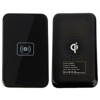 Base de Carga Wireless Qi por inducción Smartphone Negro