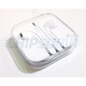 Earphones for iPhone iPad Smartphone White
