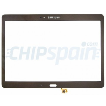 "Vidro Digitalizador Táctil Samsung Galaxy Tab S T800 T805 (10.5"") Bronze"