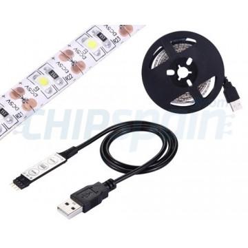Tira de LED USB para televisores y pantallas