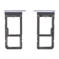 SIM & Micro SD Card Tray for Samsung Galaxy S8 G950F Orchid Gray
