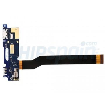 """Flex Conector de Carga Micro USB y Micrófono Asus Zenfone 3 Max ZC520TL (5.2"""")"""