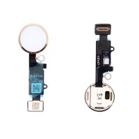 Botão Home Completo com Flex iPhone 7 iPhone 7 Plus Ouro