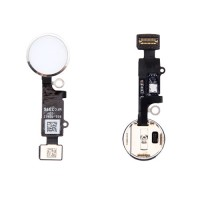 Full Home Button Flex iPhone 7 iPhone 7 Plus Silver