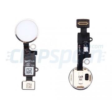 Botão Home Completo com Flex iPhone 7 iPhone 7 Plus Branco