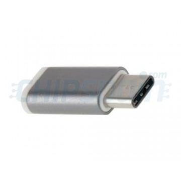 Adaptador Micro USB a USB Tipo C Macho