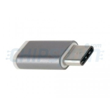 Micro USB to USB type C Adapter male