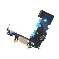 Cable Flex Conector Carga Audio y Micrófono iPhone 8 Oro