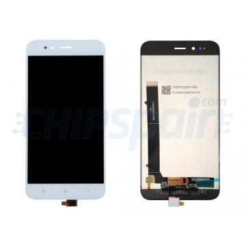 Ecrã Tátil Completo Xiaomi Mi A1 - Mi 5X Branco