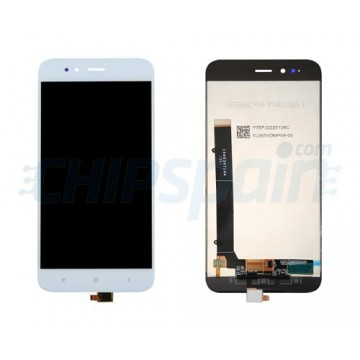 LCD Screen + Touch Screen Digitizer Xiaomi Mi A1 - Mi 5X White