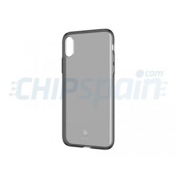 Capa iPhone X Silicone ultra fino Transparente Baseus