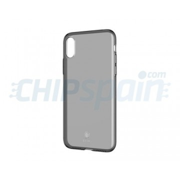 Cover iPhone X Ultra-fine silicone Transparent Baseus
