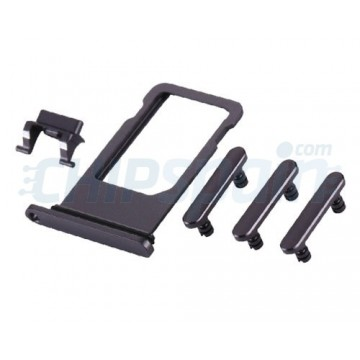Pack de Botones + PortaSIM iPhone 8 Gris