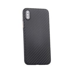 Funda iPhone X Textura Fibra Carbono
